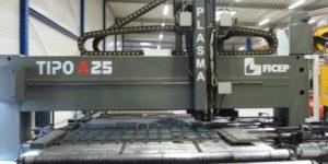 CNC Brenn- und Bohranlage Ficep Tipo A25
