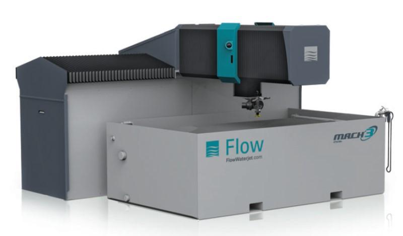 Wasserstrahlschneidanlage Flow Mach 3 D