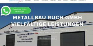 Metallbau Ruch GmbH bei Whatsapp